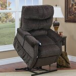 1100 Series 3 Position Lift Chair wth Heat Upholstery: Godiva
