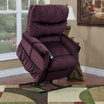 1100 Series 3 Position Lift Chair wth Heat Upholstery: Vino