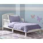 Abby Toddler Bed Color: Bianca