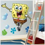 Spongebob Squarepants Giant Peel and Stick Wall Decal