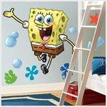 Spongebob Squarepants Giant Peel and Stick Wall Decal