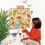 Dino Park Interactive Peel and Stick Wall Play Mural