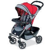 Chaperone Stroller in Red Mill