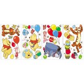 Pooh and Friends Peel and Stick Wall Decal