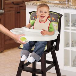 Classic Comfort� Wood High Chair