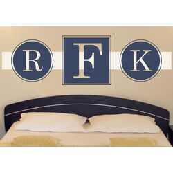 Posh Monogram Wall Decal