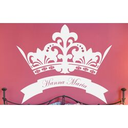 Royal Crown Wall Decal