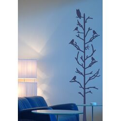 Stick Tree with Birds Vinyl Wall Decal