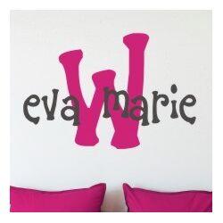 Eva's Monogram Wall Decal