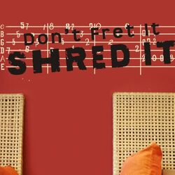 Shred It Wall Decal