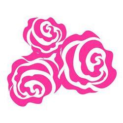 Bella Rose Vinyl Wall Decal