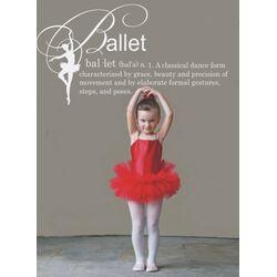 Ballet Definition Vinyl Wall Decal