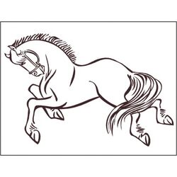 Horse 2 Wall Decal