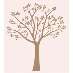 Blossoming Tree Vinyl Wall Decal