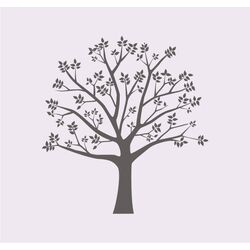 Blossoming Tree II Vinyl Wall Decal