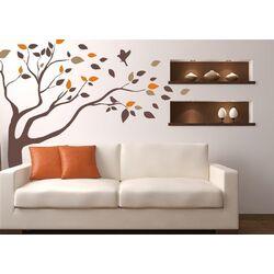 Windblown Tree Vinyl Wall Decal