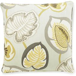 Hosta Lily Cotton Pillow