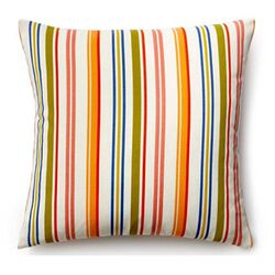 Thin Stripes Outdoor Decorative Pillow