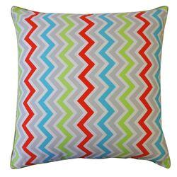 Zig Zag Cotton Pillow