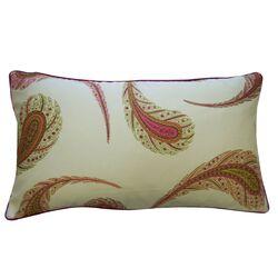 Peacock Satin Cotton Pillow