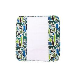 The Plush Pad Memory Foam Changing Pad in Zoo Frenzy