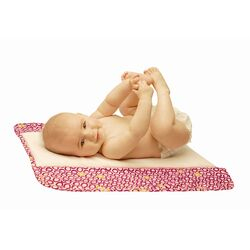 Memory Foam Changing Pad in Bubbles in Juice