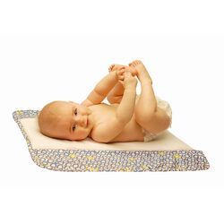 Memory Foam Changing Pad in Bubbles in Water