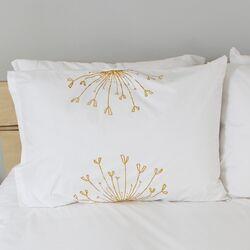 Rosette Standard Pillow Cover