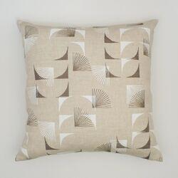 Abstract Linen Pillow