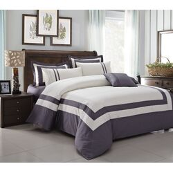 Modest 7 Piece Duvet Cover Set