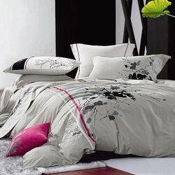Pink Stripe 7 Piece Duvet Cover Set