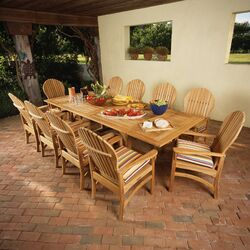 Essex Rectangular Extension Dining Table 106