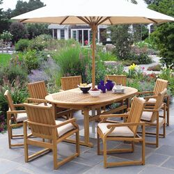 Essex Oval Extension Dining Table 100
