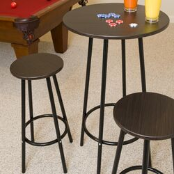 Zella 3 Piece Pub Table Set