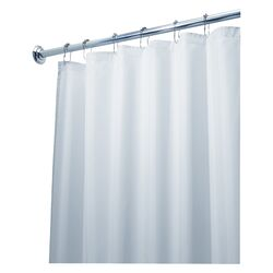 EVA Polyester Frost Extra Long Shower Curtain / Liner by InterDesign