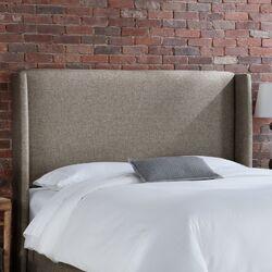 Groupie Wingback Upholstered Headboard by Skyline Furniture