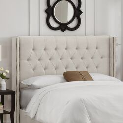 Tufted Upholstered Headboard by Skyline Furniture