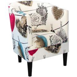 Hearts Barrel Chair
