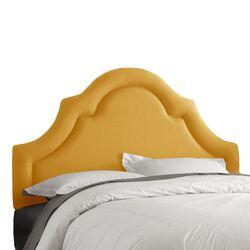 High Arch Linen Upholstered Headboard