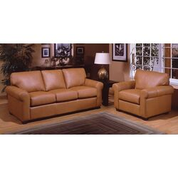 city sleek leather living room set by omnia furniture