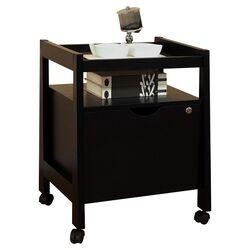 1-Drawer Hancock Modern Equipment Trolly/File Cabinet