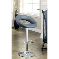 Theory Adjustable Height Swivel Bar Stool