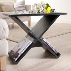 Cross Braced End Table