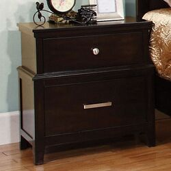 Cadbury 2 Drawer Nightstand