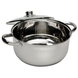 5-qt Steel Round Dutch Oven with Lid