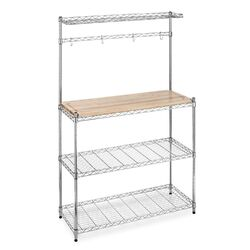 Supreme Microwave Etagere Bakers Rack