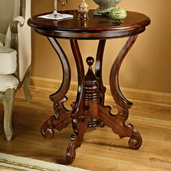 Bordeaux Sculptural Occasional End Table