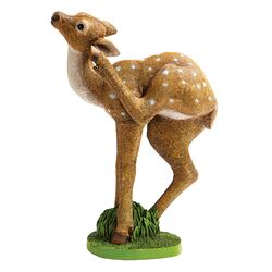 Out from the Thicket Baby Deer Statue