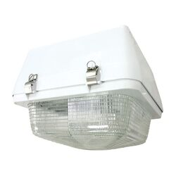 250W Canopy Pulse Start Flush Mounting White