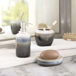 Hiend accents savannah 4 piece bathroom set reviews wayfair for Savannah bathroom accessories